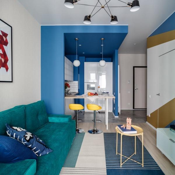 Современный способ смоделировать дизайн квартиры и расстановка мебели в однокомнатной квартире