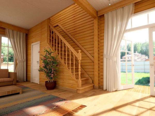 Деревянные лестницы в интерьере: разновидности и особенности