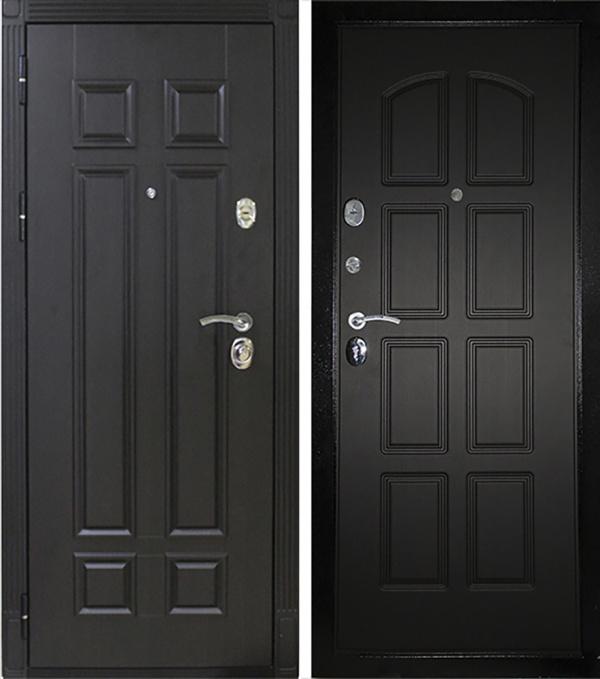 Входная металлическая дверь для дома