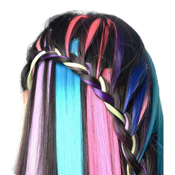 Накладные волосы из искусственных материалов – выгоды и правила выбора